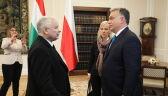 Spotkanie premiera Węgier z Kaczyńskim