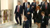 Orban opuszcza Sejm po spotkaniu z Kaczyńskim
