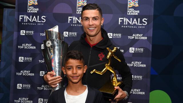 """Ronaldo zaskoczył swojego syna. """"Tato, naprawdę tu mieszkałeś?"""""""