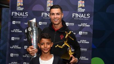 Ronaldo zaskoczył swojego syna.
