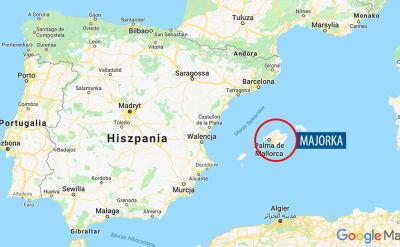 Do kastrofy doszło na Majorce