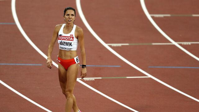Pobiegła z mężczyznami. Joanna Jóźwik uzyskała najlepszy wynik od trzech lat