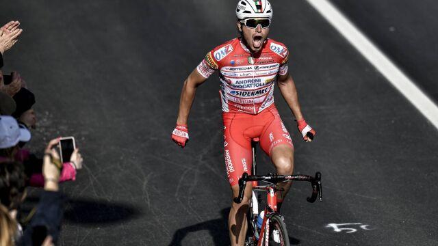 Wygrał etap na Giro, przenosi się do polskiej grupy kolarskiej
