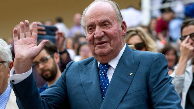 Były król Hiszpanii w szpitalu.
