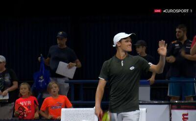 Majchrzak awansował do drugiej rundy kwalifikacji do US Open
