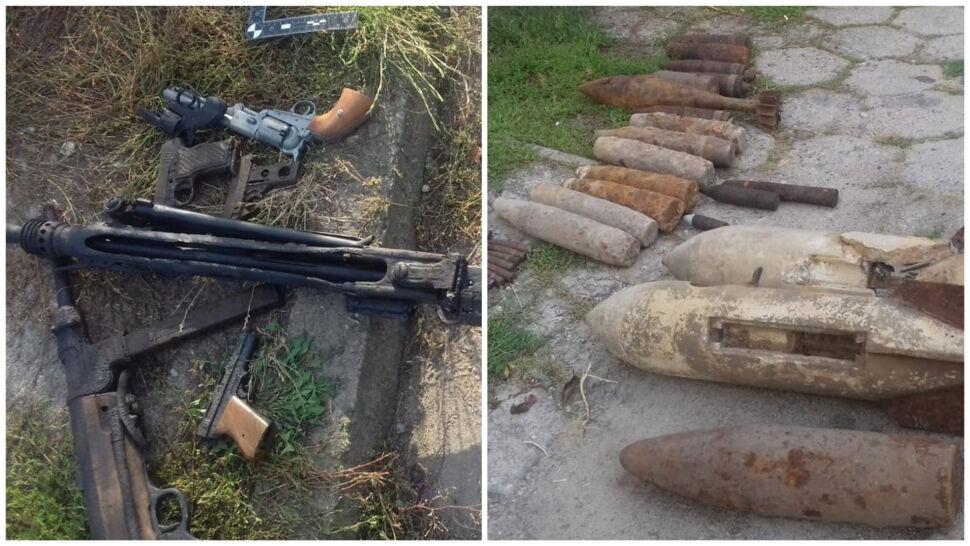 Trotyl, granaty, karabiny i rewolwery. Policjanci dwa dni zabezpieczali arsenał