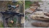Na posesji 57-latka znaleziono imponujący arsenał