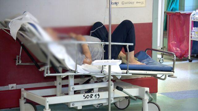 Oblężenie SOR-u w Szpitalu Bielańskim