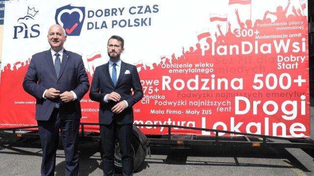 """""""Lider PiS dotrze do wszystkich czterdziestu okręgów wyborczych"""""""