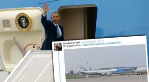Obama zakończył wizytę w Warszawie. Air Force One wyleciał do Brukseli