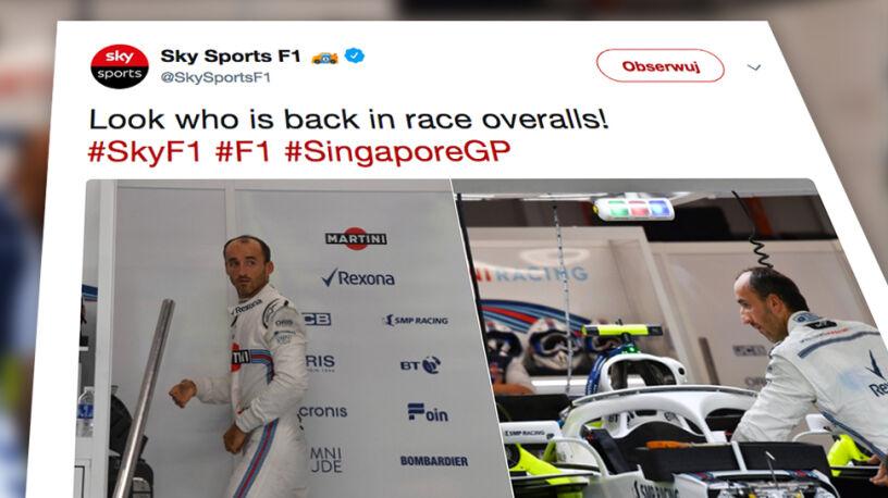 Kubica chce wrócić. Przymierzał się do bolidu przed Grand Prix