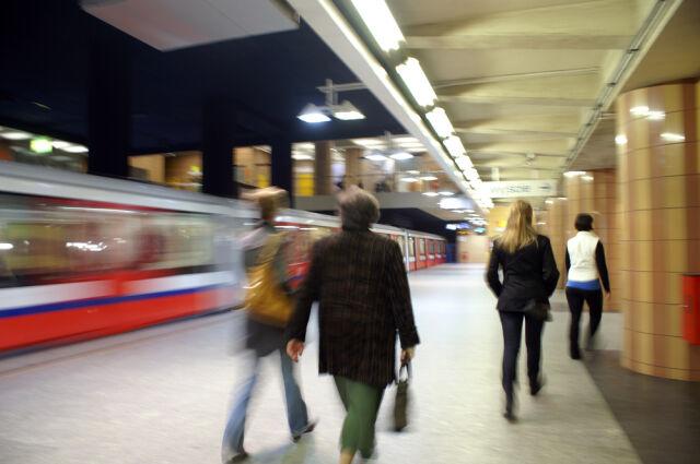 Plan w warszawskim metrze wskazywał drogę do tajnego kompleksu policji