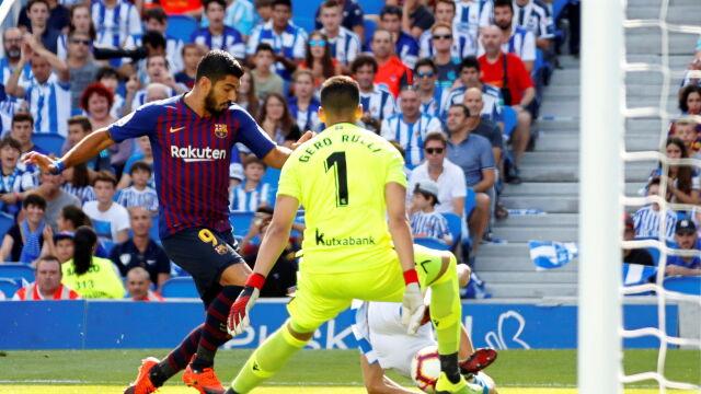 Męczarnie Atletico, udana pogoń Barcelony i potknięcie Realu