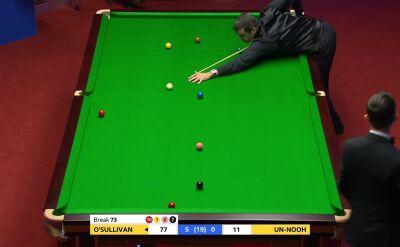 Piękny dubel O'Sullivana w 1. rundzie mistrzostw świata
