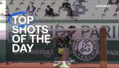 Najlepsze zagrania 11. dnia Roland Garros