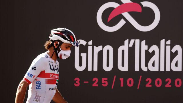 """Obawy szefa Giro d'Italia. """"Nośmy maski i pokonajmy ten kryzys"""""""