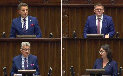 Wyobrażenia Kaczyńskiego, reguła Stalina i przeprosiny dla Piotrowicza. Nocna debata o ustawie o TK