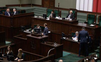 Po wystąpieniu premiera i zarządzonej przerwie rozpoczęła się debata