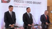 Andrzej Duda na szczycie w Tiranie