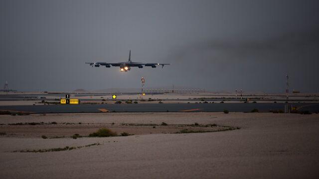 """Amerykańskie bombowce wylądowały w Katarze. Odpowiedź na """"zagrożenie ze strony Iranu"""""""