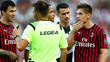 VAR swoje, sędzia swoje. Milan bez karnego, Piątek bez szansy na gola