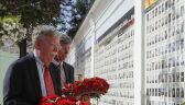 John Bolton złożył kwiaty pod pomnikiem żołnierzy poległych w Donbasie