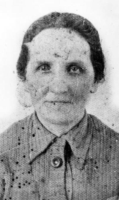 Cecylia Sobańska, zamordowana w dniu 1 września 1939 r. w Wieluniu przez lotników hitlerowskich