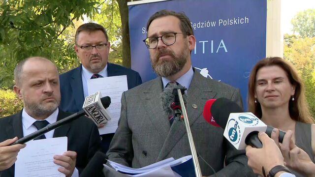 """Iustitia chce """"odpolitycznienia polskich sądów"""". Przygotowała projekt ustawy"""