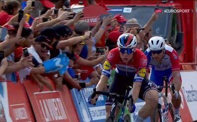 Jakobsen wygrał 4. etap Vuelta a Espana, Sajnok 6.