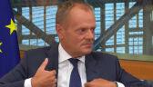 Donald Tusk o Januszu Wojciechowskim