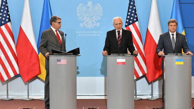 Wspólna deklaracja Polski, Ukrainy i USA w sprawie dostaw gazu