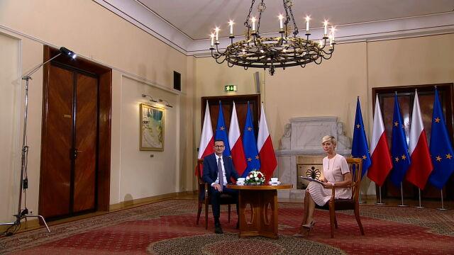 Premier o aferze hejterskiej: minister Ziobro nie wiedział, co się tam dzieje