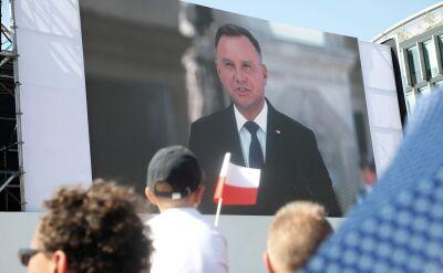 Prezydent: polscy obywatele narodowości żydowskiej zostali zamknięci w gettach, byli traktowani jak nieludzie