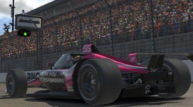 Wymarzony debiut Norrisa. Kierowca F1 wygrał Indy Car iRacing Challenge