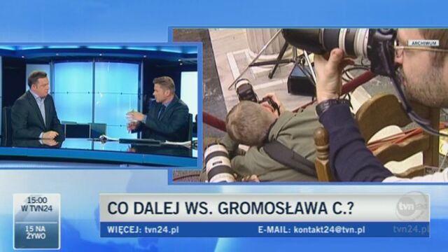 Dziennikarz śledczy portalu tvn24.pl Maciej Duda opowiada o sprawie Gromosława C.