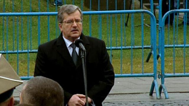 Przemówienie prezydenta Bronisława Komorowskiego