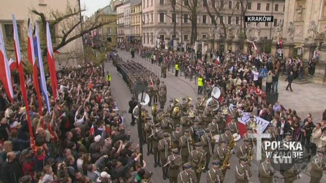 Kondukt czeka pod Wawelem
