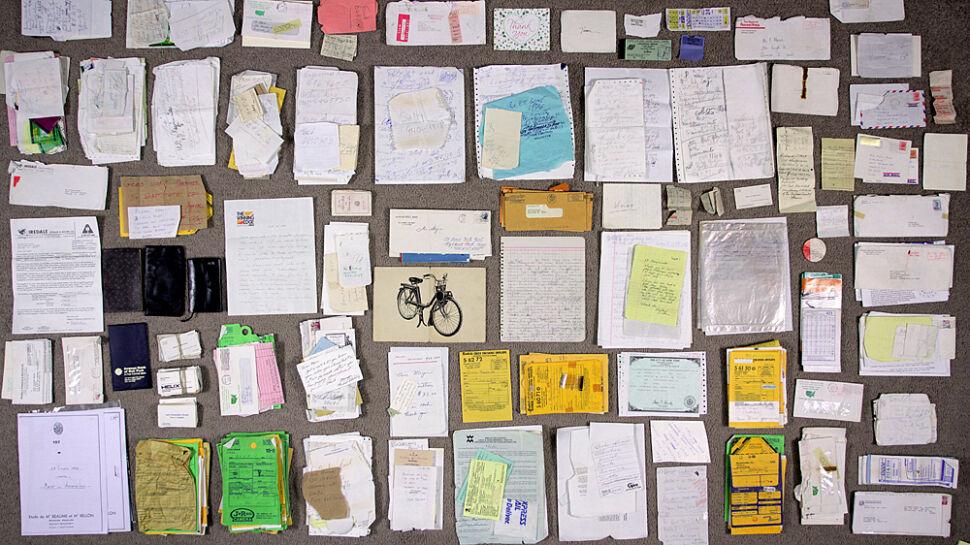 Notatki i inne drobiazgi Vivian Maier znalezione wraz z jej zdjęciami
