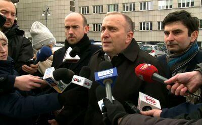 """Grzegorz Schetyna apeluje o delegalizację """"Dumy i Nowoczesności"""""""
