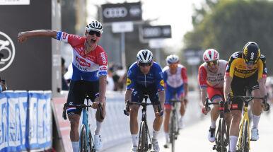 Van der Poel pierwszym liderem UAE Tour