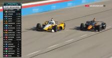 O'Ward przejął prowadzenie na 24 okrążenia przed końcem XPEL 375