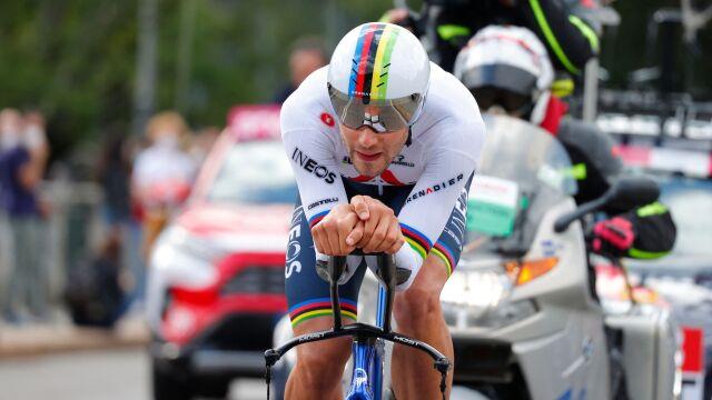 """""""Top Ganna"""". Mistrz świata pierwszym liderem Giro d'Italia"""