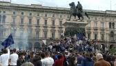 Szalona radość w Mediolanie. Kibice Interu świętowali zdobycie tytułu mistrzowskiego