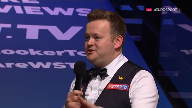 Murphy po finale mistrzostw świata w snookerze