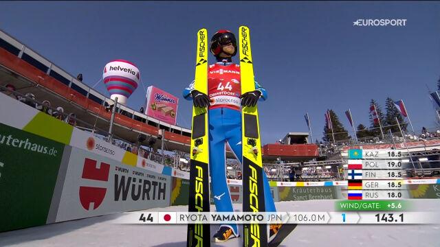 Yamamoto wygrał konkurs skoków do kombinacji norweskiej na skoczni normalnej