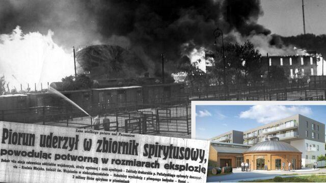 Fabryka spirytusu spłonęła 79 lat temu. Ocalałe budynki będą częścią osiedla