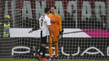 Ronaldo strzela, Szczęsny szczęśliwy.