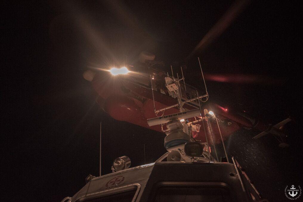 Akcje ratunkowe przy pomocy Mi-14 PŁ/R przeprowadza się też w nocy