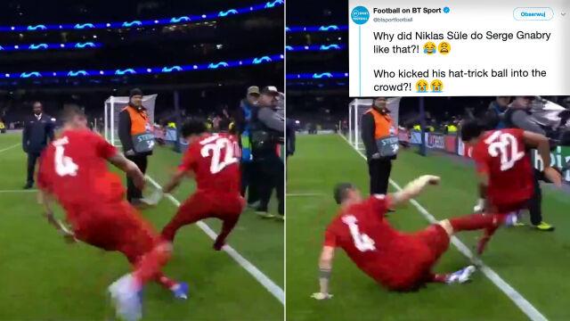 Szalona radość piłkarzy Bayernu. Bohater wycięty równo z trawą