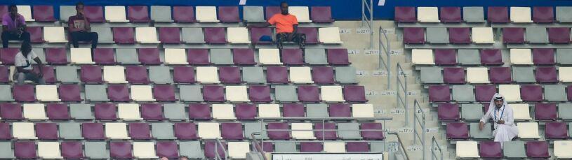 Katar straszy pustymi trybunami.